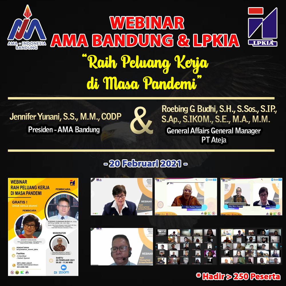 Webinar AMA Bandung - LPKIA