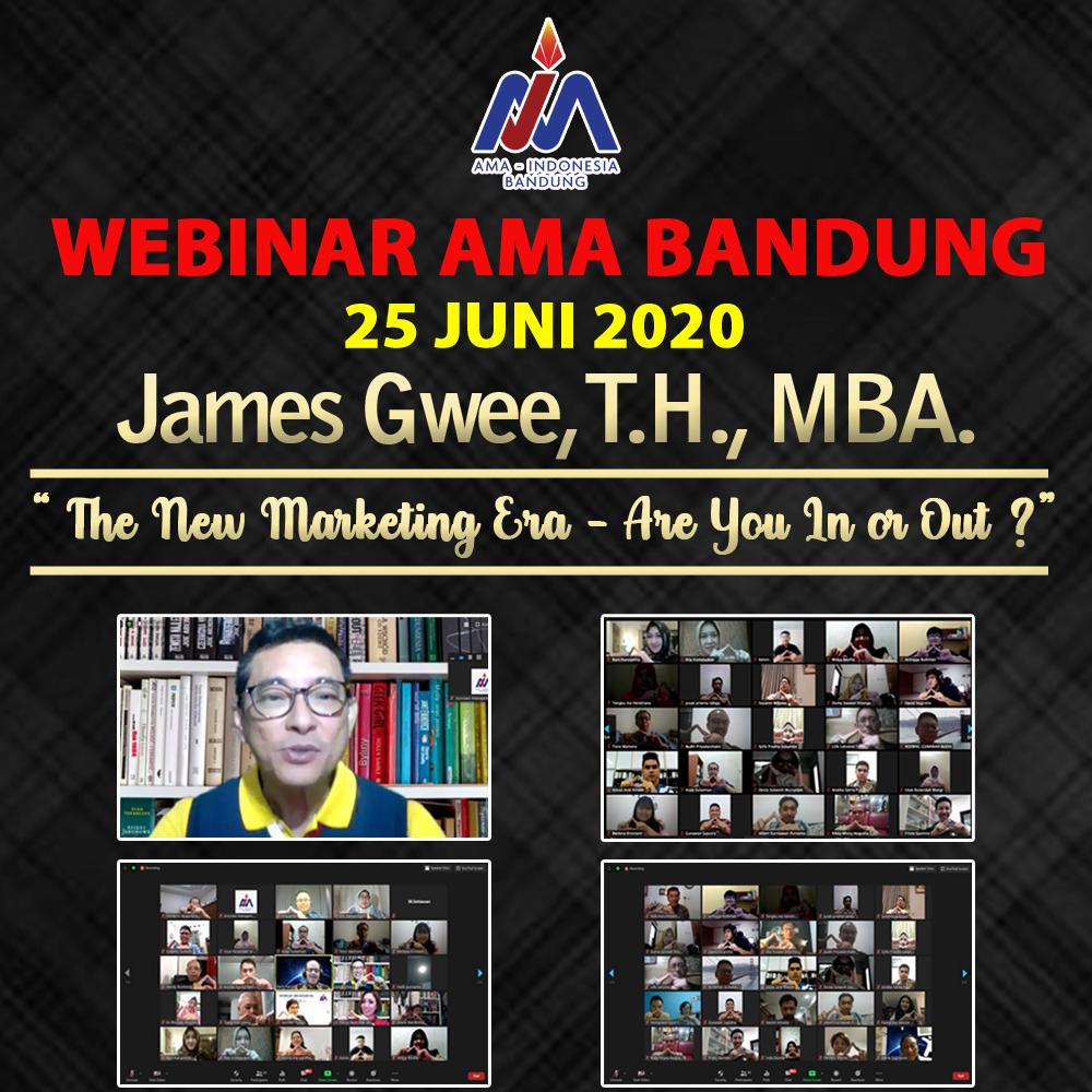 Webinar AMA Bandung 25 Juni 2020 - James Gwee