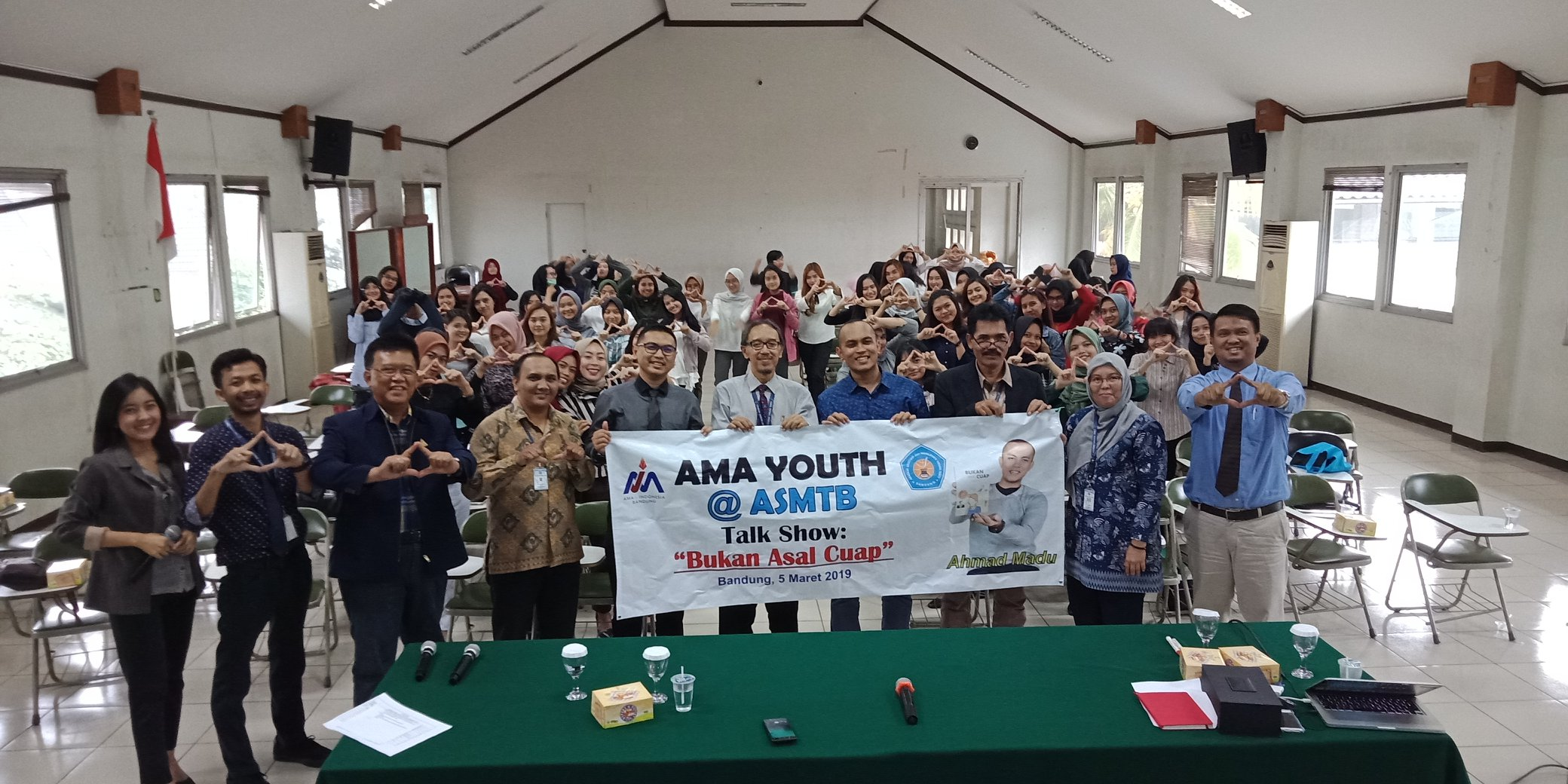 Dokumentasi Kegiatan AMA Youth  5 Maret 2019 di ASMTB