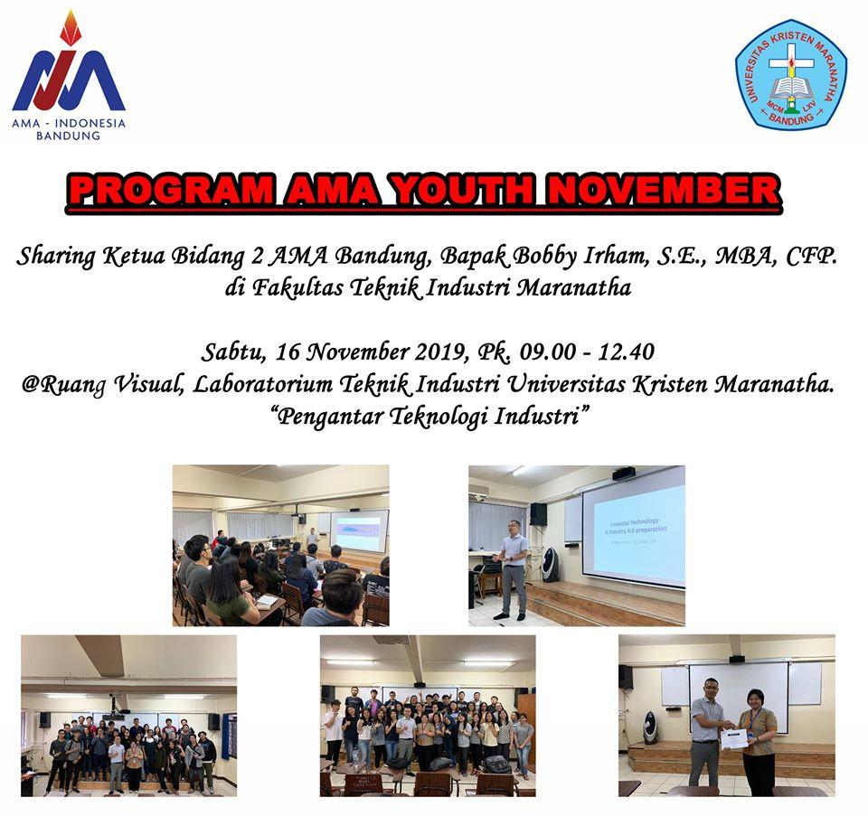 Program AMA Youth Bulan November 2019