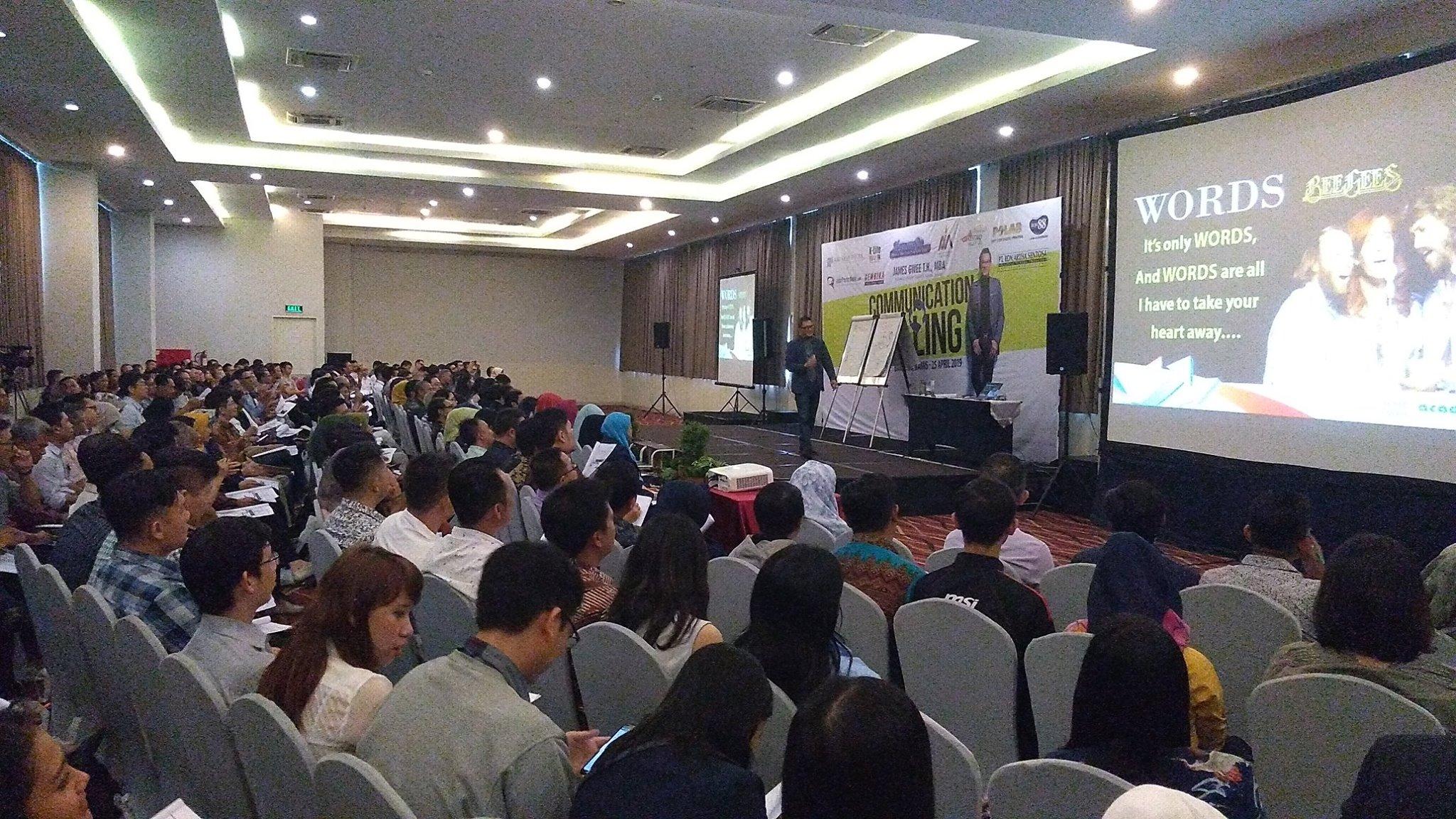 Dokumentasi Seminar AMA Bandung di Bulan April 2019