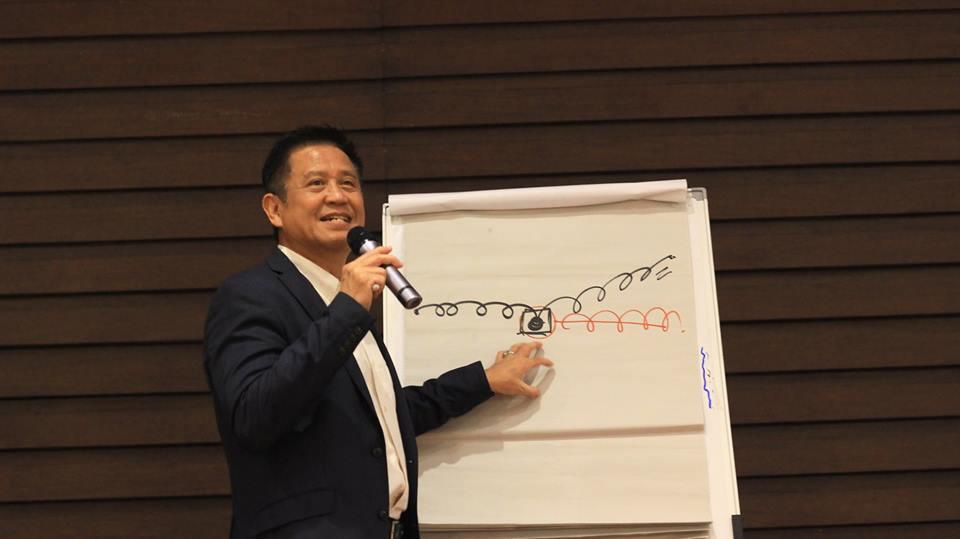 Dokumentasi Seminar AMA Bandung - Bpk. Andrie Wongso (14-03-2018)