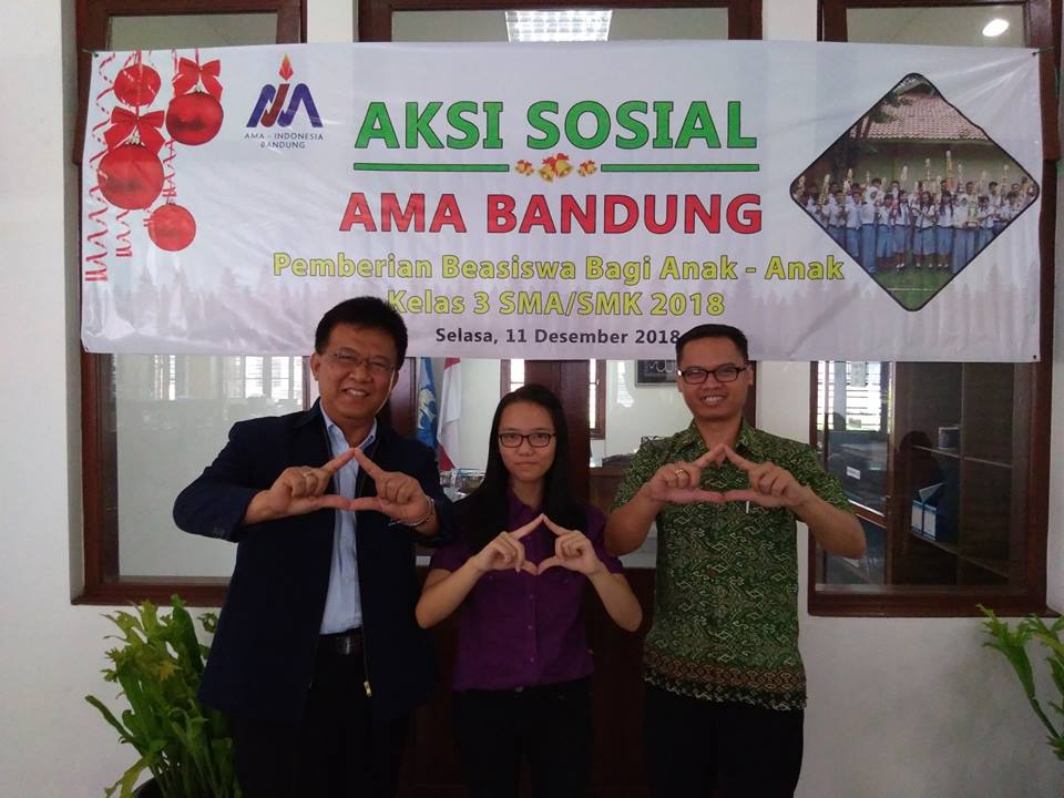 Aksi Sosial AMA Bandung Bulan Desember 2018