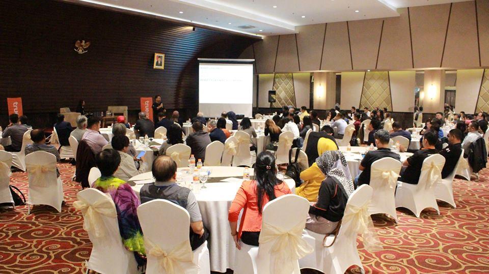 Dokumentasi Seminar AMA Bandung di bulan Juli 2018