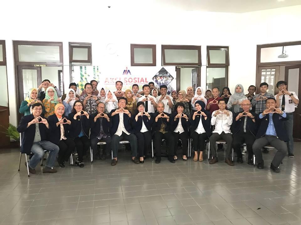 Aksi Sosial AMA Bandung pada bulan Juni 2018
