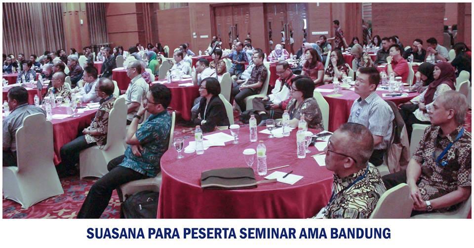 Dokumentasi Seminar AMA Bandung di bulan Mei 2018