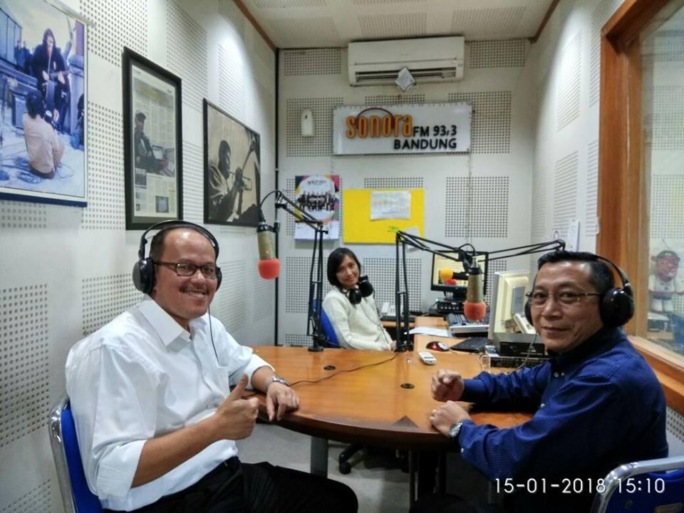 Dokumentasi Talkshow di Raka & Sonora FM