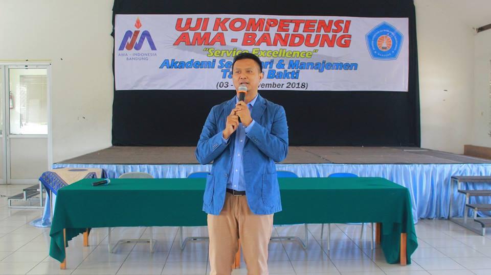 Pembekalan Uji Kompetensi AMA Bandung - ASMTB