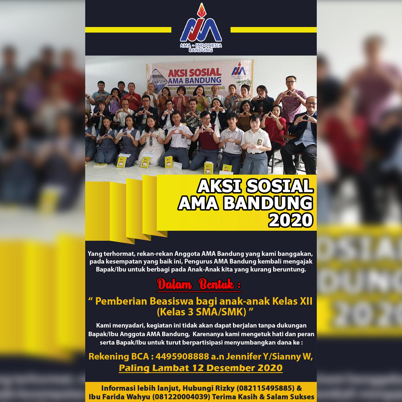 Aksi Sosial AMA Bandung Desember 2020
