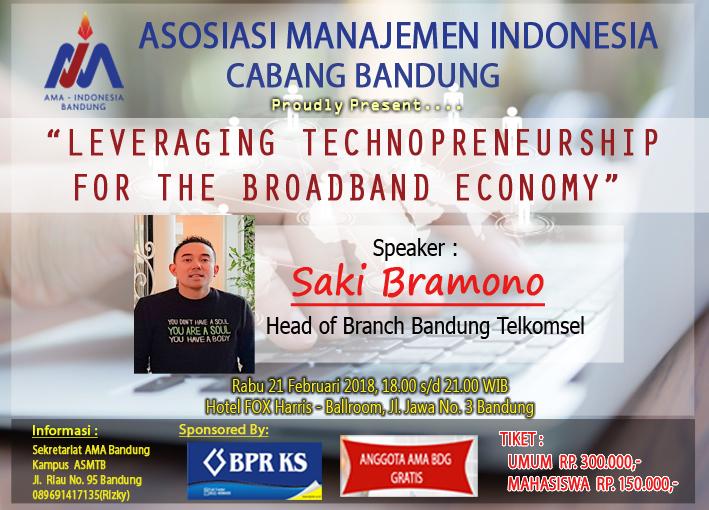Leveraging Technopreneurship For the Broadband Economy